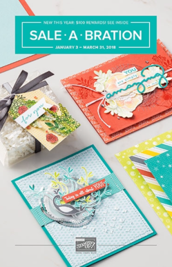 2018 Sale-A-Bration Catalogue